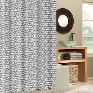 Co The Twillery Paul Tiles Shower Curtain