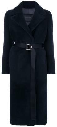 Blancha belted midi coat
