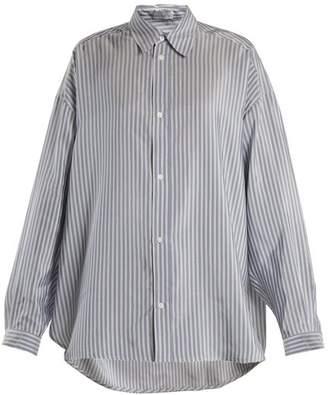 Raey Swing-back silk shirt