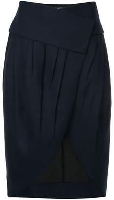 Jacquemus asymmetric pleated skirt