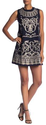 Molly Bracken Embroidered Embellished Dress
