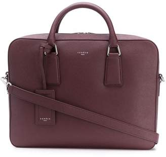 Sandro Paris zipped briefcase
