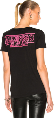 OFF-WHITE Business Scoop Tee $285 thestylecure.com