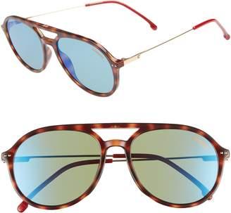 Carrera Eyewear 53mm Aviator Sunglasses