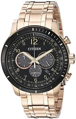 Citizen Men's 'Chronograph' Quartz Stainless Steel Casual Watch