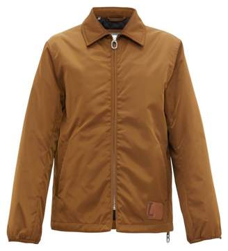 Lanvin Technical Padded Twill Coach Jacket - Mens - Camel