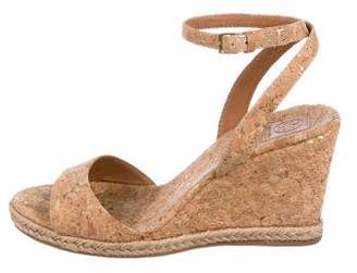 Tory Burch Cork Wedge Sandals