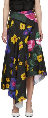 Marques Almeida Multicolor Wrap Skirt