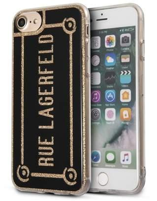 Karl Lagerfeld Rue Lagerfeld iPhone Case