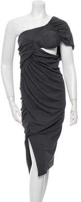 Altuzarra Silk One-Shoulder Dress