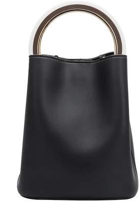 Melie Bianco Gemma Vegan Leather Satchel Bag