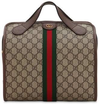 d744712488d Gucci Mini Ophidia Gg Supreme Duffle Bag