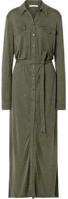 Ninety Percent - Tencel Maxi Dress - Army green