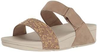 FitFlop Women's Lulu Popstud Slide Sandal Flip Flop