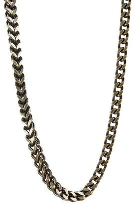 März 6mm Vintage Stainless Steel Box Chain Necklace