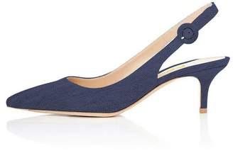 fcf9aeee432 Blue Kitten Heel Sandals For Women - ShopStyle Canada