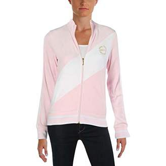 Juicy Couture Black Label Women's Velour Sporty Heritage Jacket