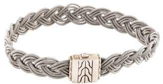 John Hardy Braided Chain Bracelet