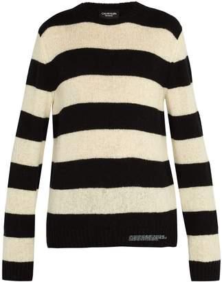 Calvin Klein Striped wool blend knit