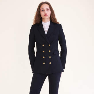 Maje Eight-button double-breasted jacket