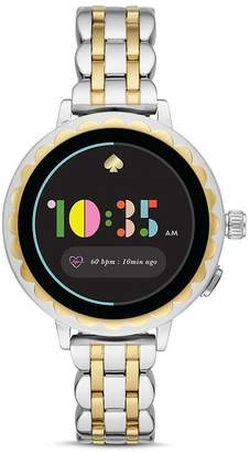 Kate Spade Scallop 2 Two-Tone Smartwatch, 42mm