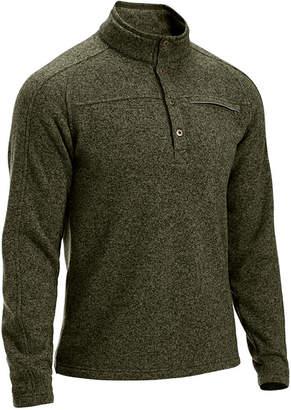 Ems Men's Roundtrip 1/4-Button Pullover Fleece