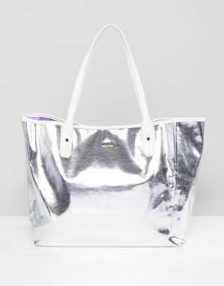 ban.do Ban Do Silver Tote Bag