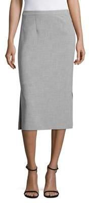 Ellen Tracy Petite Petite Double Weave A-Line Dress