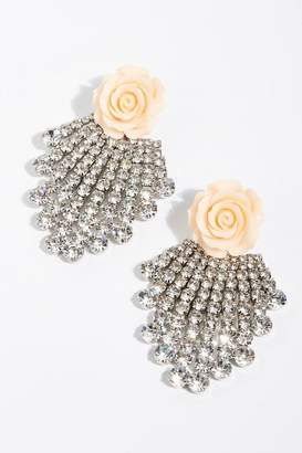 Dannijo Rose Earrings