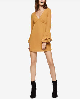 BCBGeneration Ruffle-Sleeve A-Line Dress