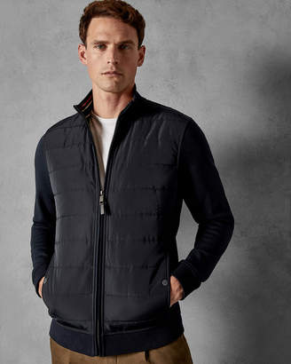 Ted Baker MOWNTAN Quilted funnel neck jacket