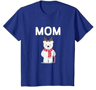 Mom Polar Bear Pajama Family Christmas T-Shirt