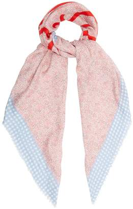 Loewe Liberty print scarf