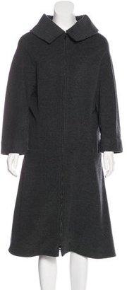 Yohji Yamamoto Wool & Cashmere-Blend Coat $375 thestylecure.com