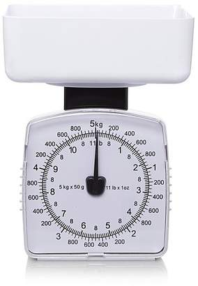 George Home Mechanical 5kg Kitchen Scale - White