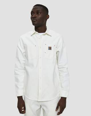 Carhartt Wip Tony Button Up Shirt in Wax