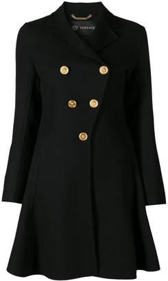 Versace flared coat