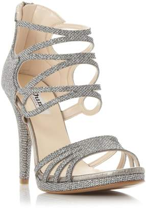 at Dune Dune LADIES MIROIR - Metallic Strappy High Heel Sandal