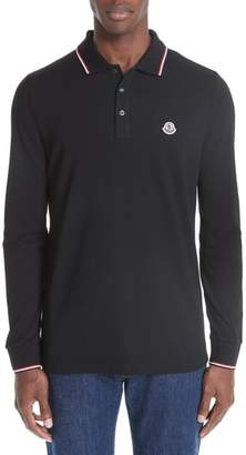 Moncler Maglia Long Sleeve Pique Polo