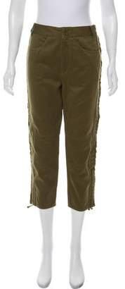 Isabel Marant Cropped High-Rise Pants