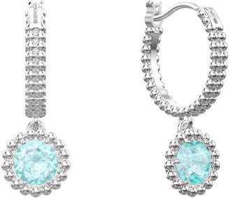Swarovski Oxygen Hoop Earrings