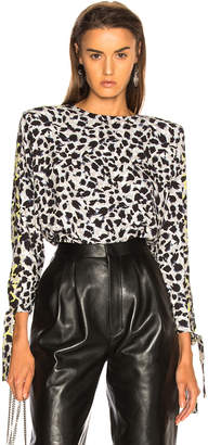 Carmen March Leopard Top