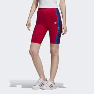 adidas Floral Bike Shorts