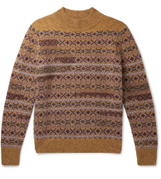 Isabel Marant Nills Fair Isle Wool Sweater