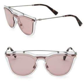 Valentino 37MM Clubmaster Sunglasses