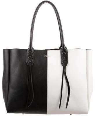 Lanvin Colorblock Shopper Tote $1,295 thestylecure.com