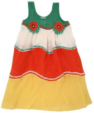 Stella McCartney Waffle Organic Cotton Muslin Dress