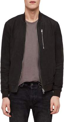 AllSaints Stones Leather Bomber Jacket