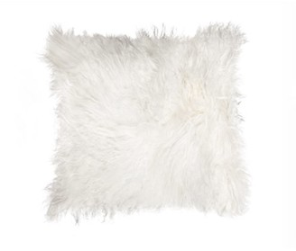 Natural 100 Percent Sheepskin Mongolian Pillow