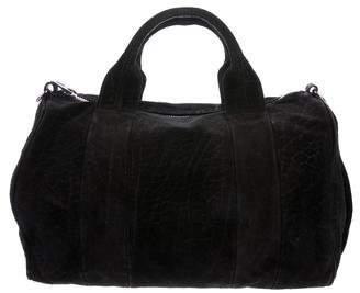 Alexander Wang Suede Rockei Duffel Bag